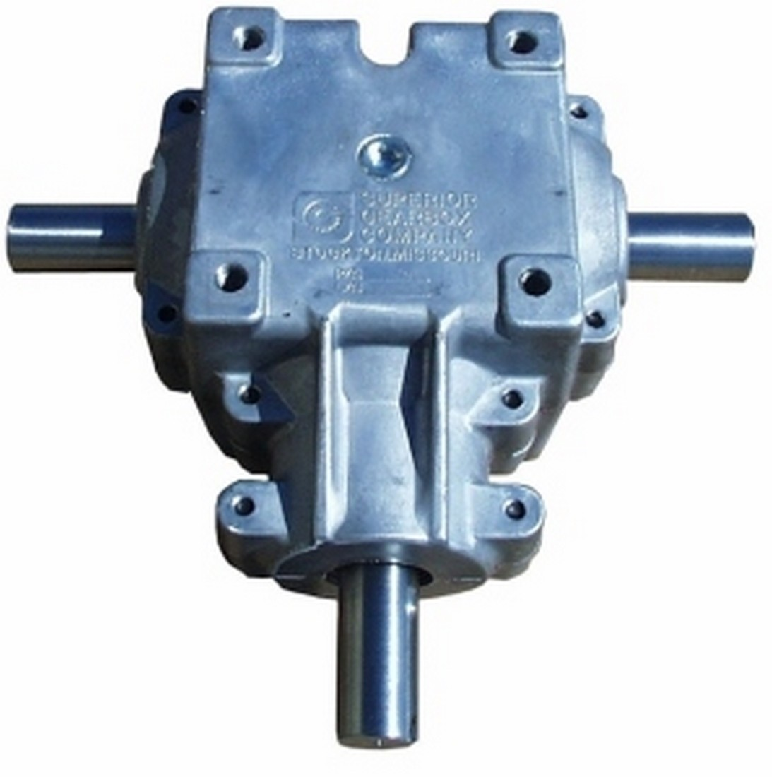 3 SHAFT GEARBOX 1:1 RATIO - 400 SERIES WITH 1 1/4 SHAFT